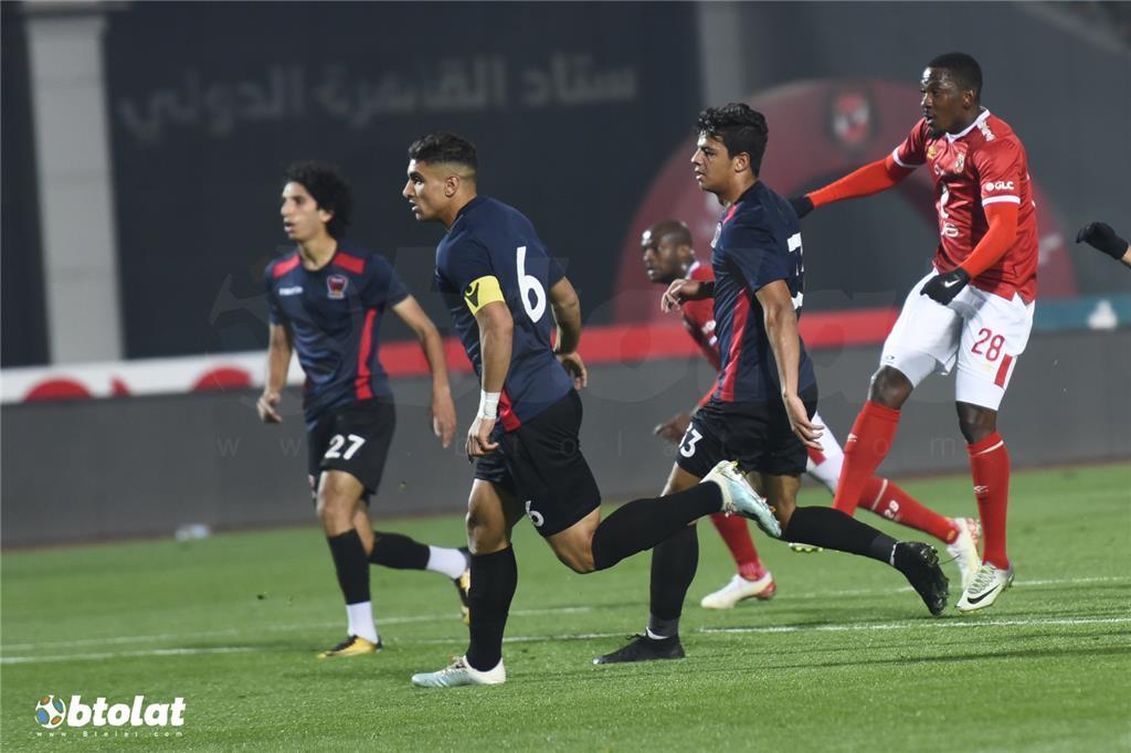 مباراة الاهلي واف سي مصر