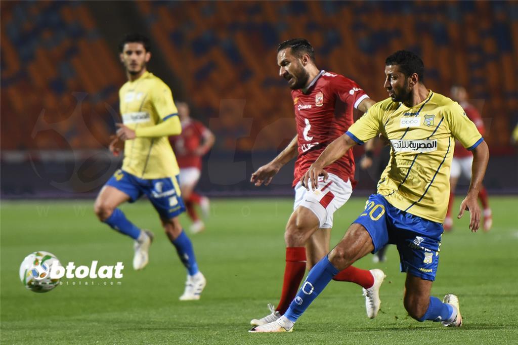 صور مباراة الاهلي وطنطا في الدوري المصري