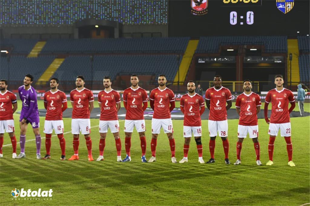 صور مباراة الاهلي والمقاولون العرب في الدوري المصري