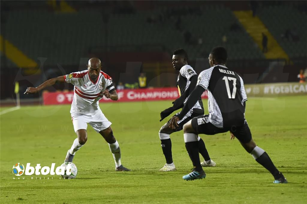 صور مباراة الزمالك ومازيمبي في دوري ابطال افريقيا