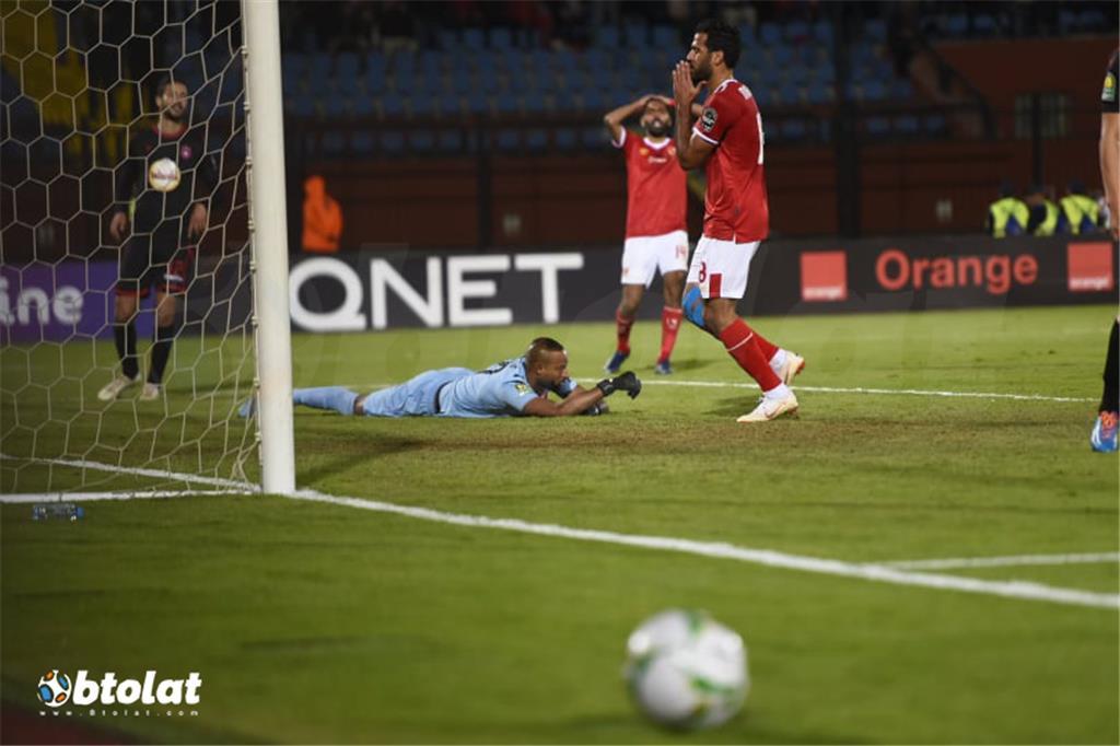 صور مباراة الاهلي والنجم الساحلي في دوري ابطال افريقيا