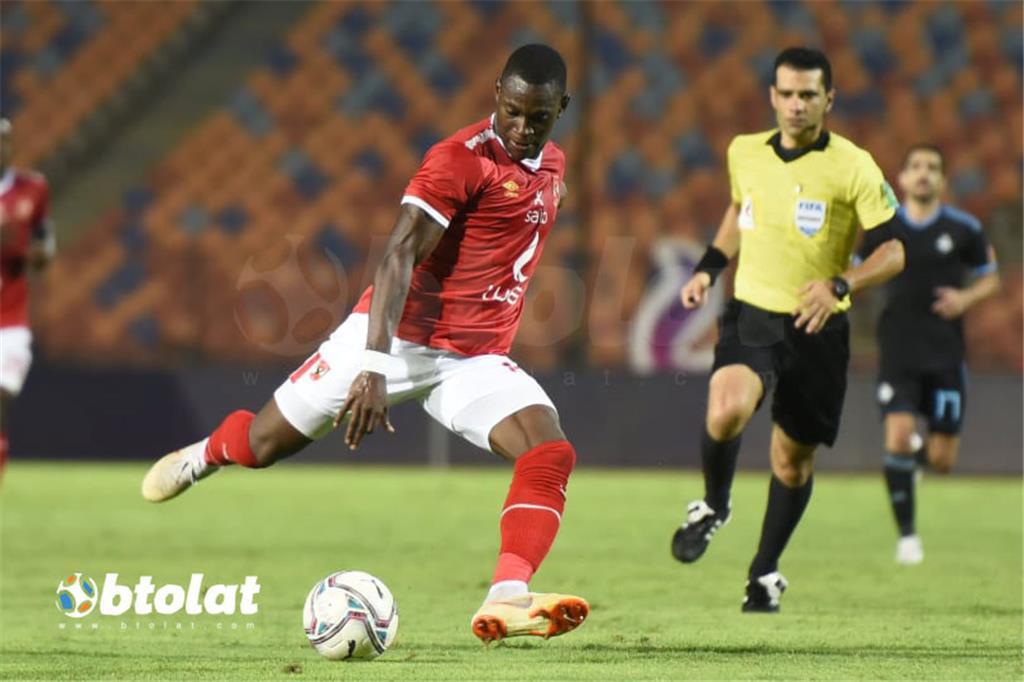 صور مباراة الاهلي وبيراميدز في الدوري المصري