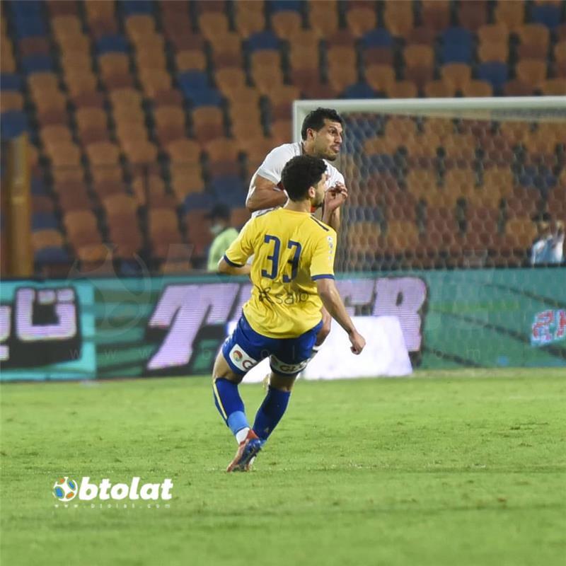 صور مباراة الزمالك والاسماعيلي في الدوري المصري