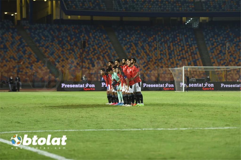 صور مباراة مصر الاوليمبي والبرازيل الودية