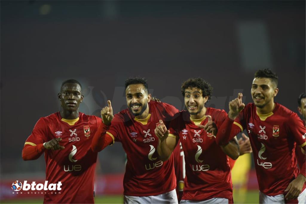 صور مباراة الاهلي وغزل المحلة في الدوري المصري