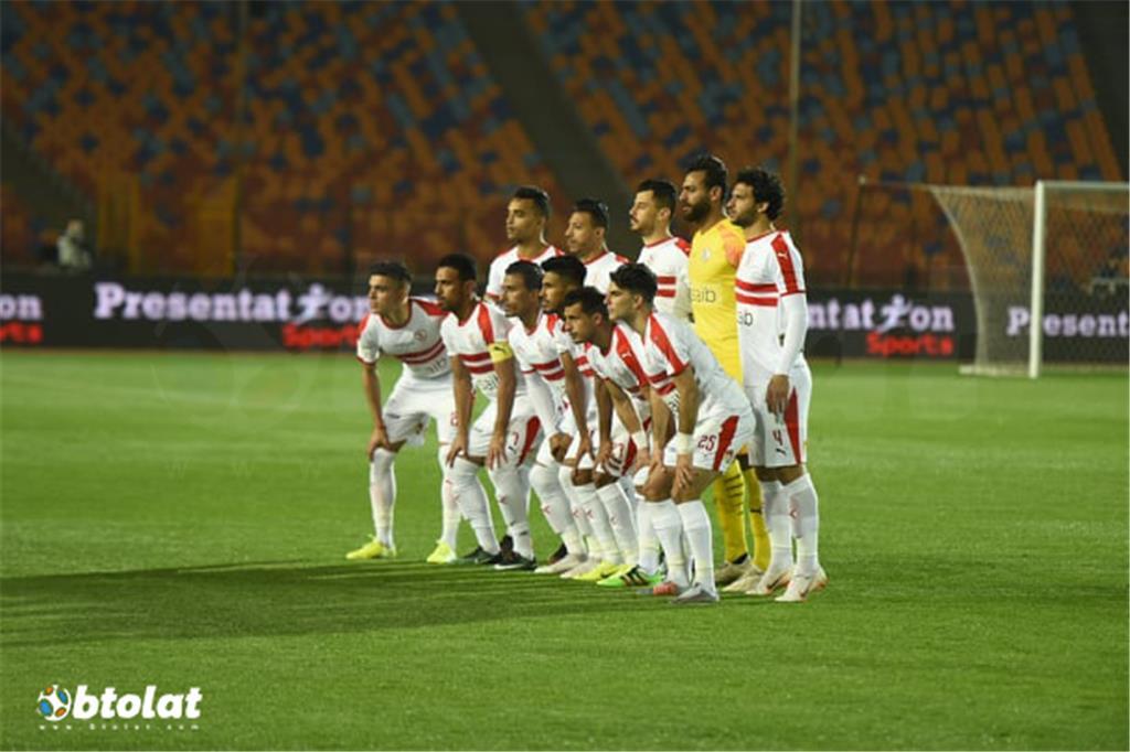 صور مباراة الزمالك وحرس الحدود في الدوري المصري