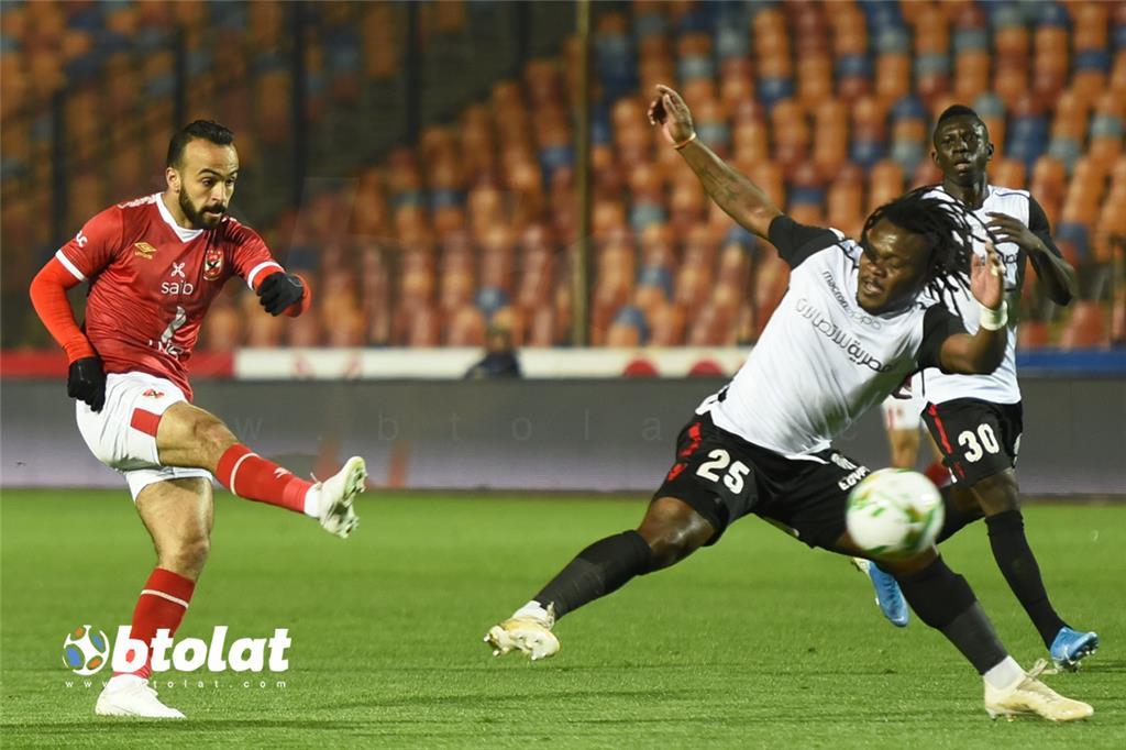صور مباراة الاهلي وطلائع الجيش في الدوري المصري