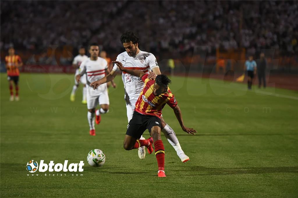 صور مباراة الزمالك والترجي في دوري ابطال افريقيا