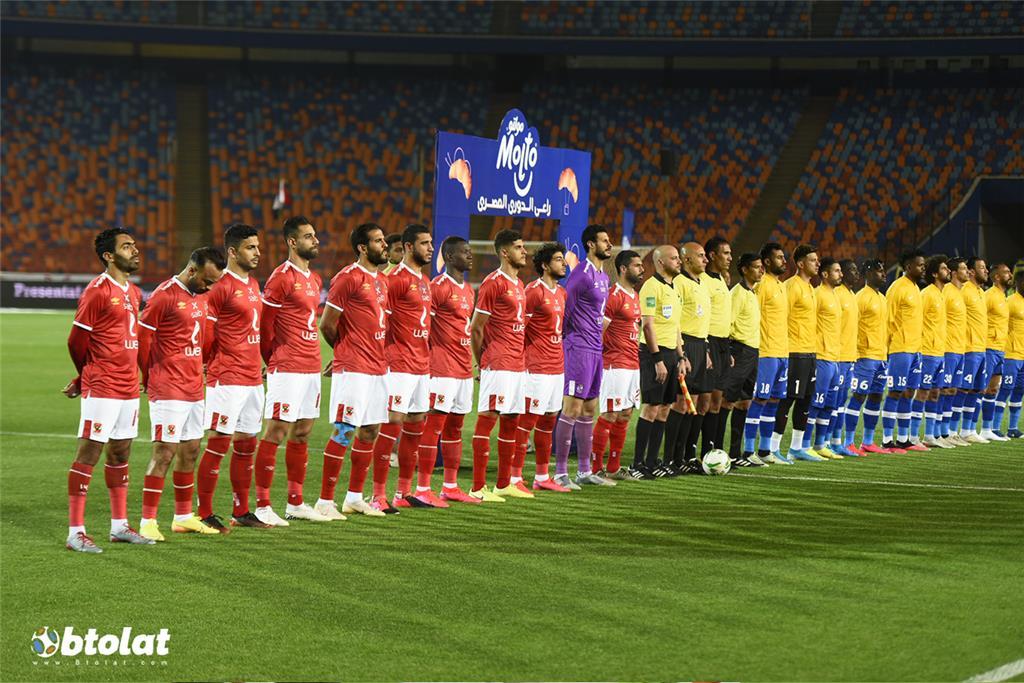 صور مباراة الاهلي وسموحة في الدوري المصري