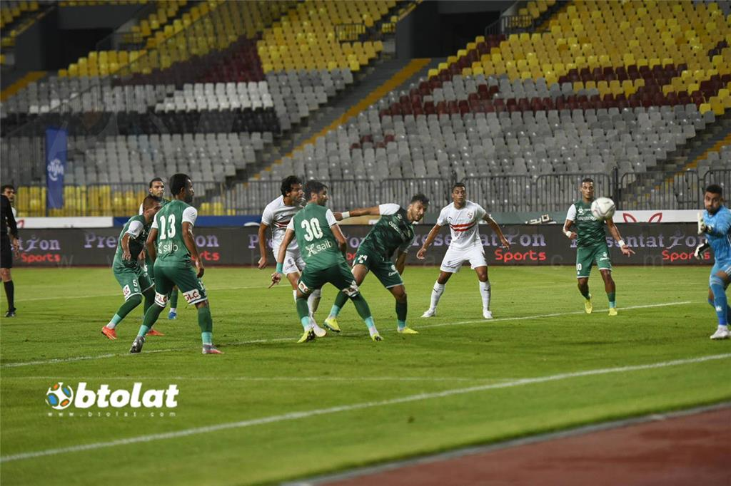 صور مباراة الزمالك والمصري في الدوري المصري