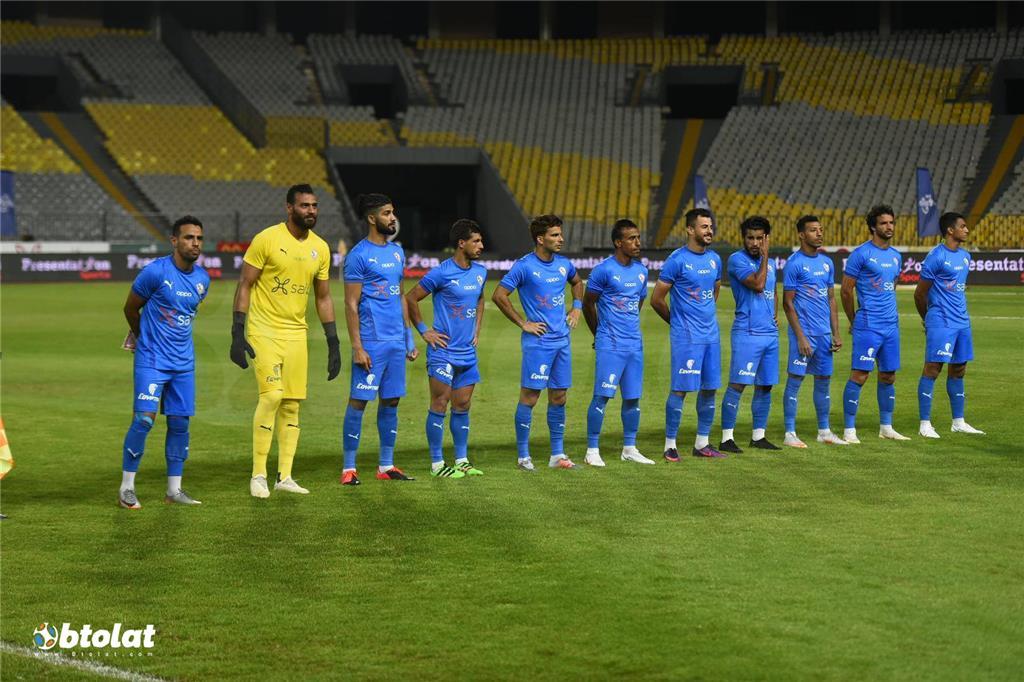 صور مباراة الزمالك والاتحاد السكندري في الدوري المصري