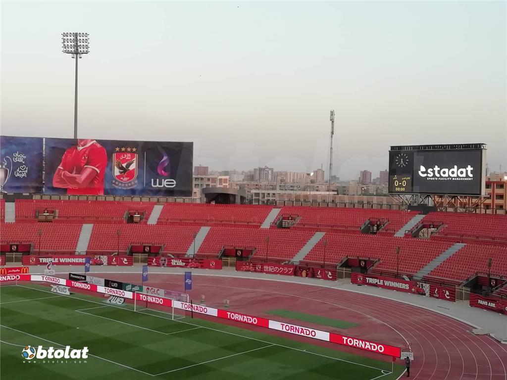 صور مباراة الاهلي والانتاج الحربي في الدوري المصري