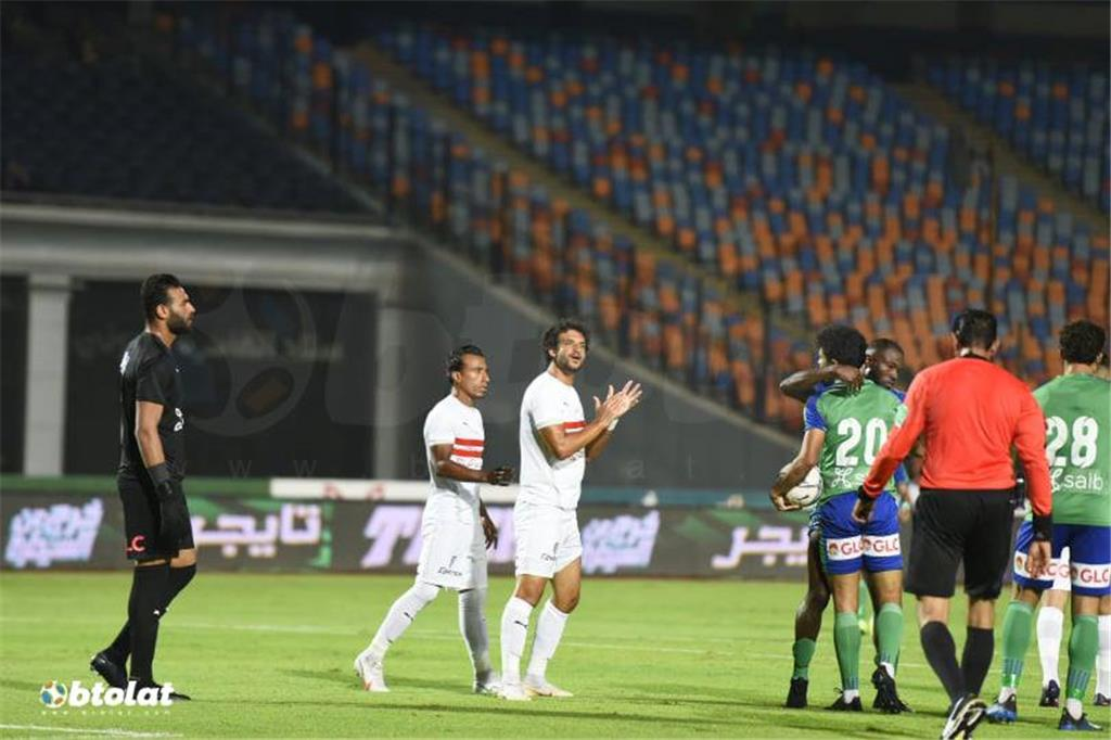 صور مباراة الزمالك ومصر المقاصة في الدوري المصري
