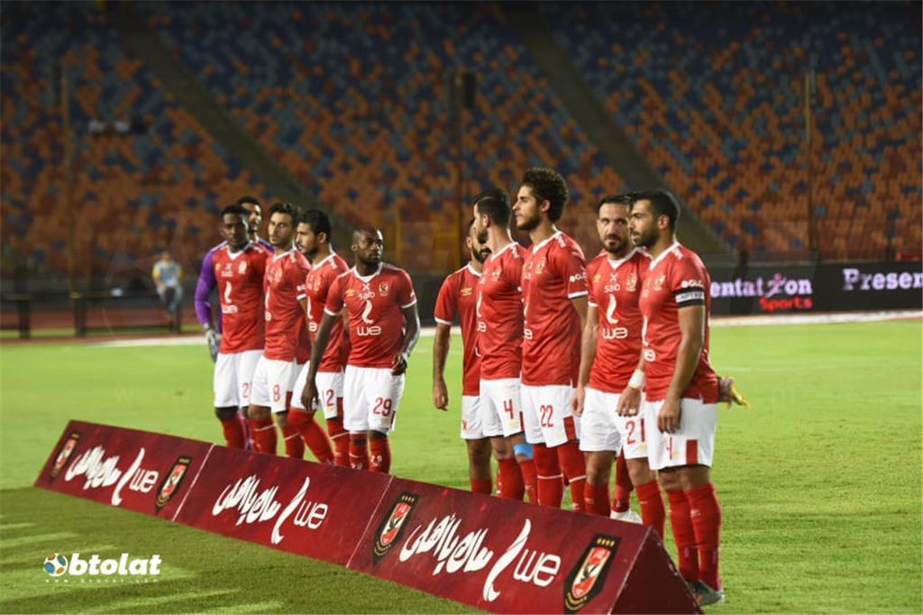 صور مباراة الاهلي واسوان في الدوري المصري