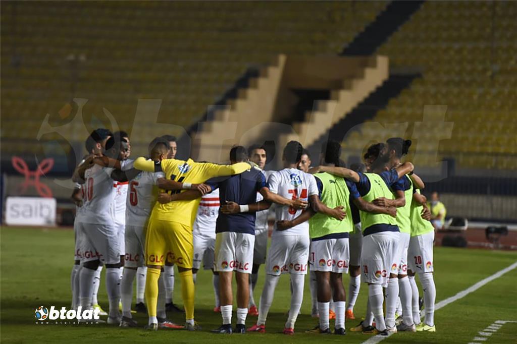 صور مباراة الزمالك ونادي مصر في الدوري المصري