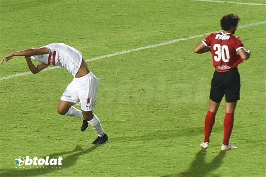 صور مباراة الاهلي والزمالك في الدوري المصري