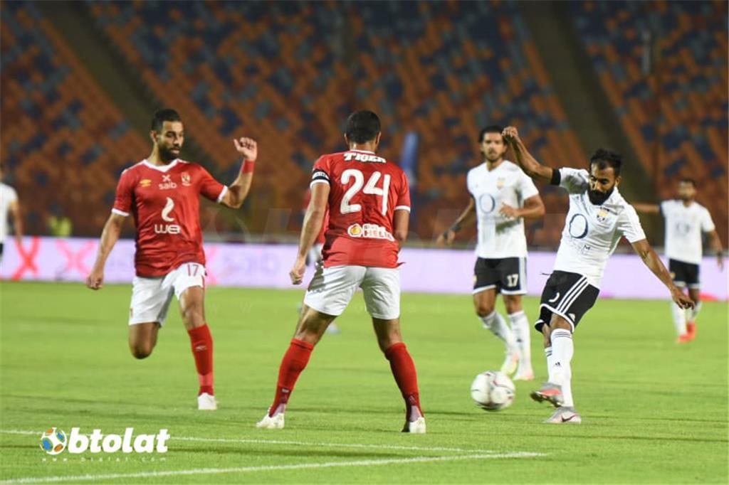 صور مباراة الاهلي والجونة في الدوري المصري
