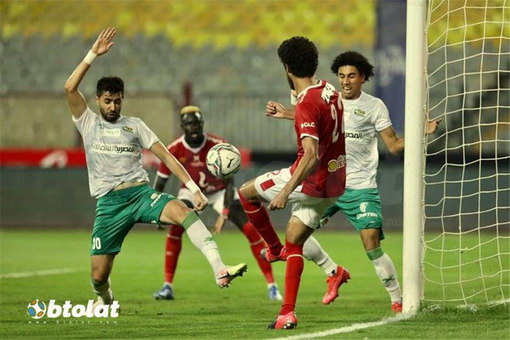 صور مباراة الاهلي والمصري في الدوري المصري