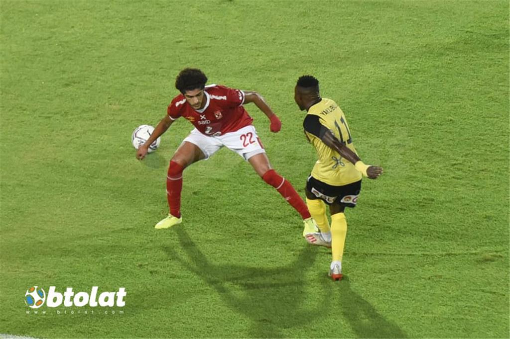 صور مباراة الاهلي ووادي دجلة في الدوري المصري
