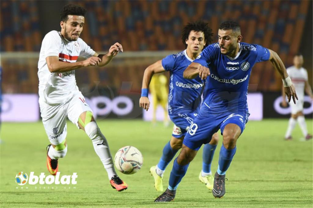 صور مباراة الزمالك واسوان في الدوري المصري