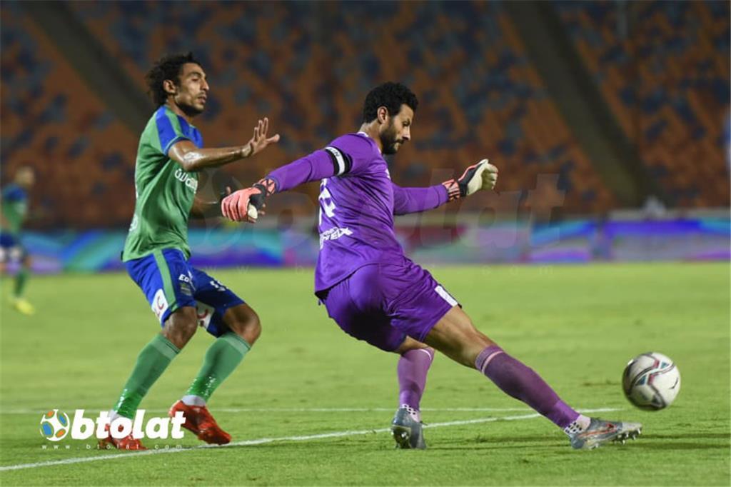 صور مباراة الاهلي ومصر المقاصة في الدوري المصري