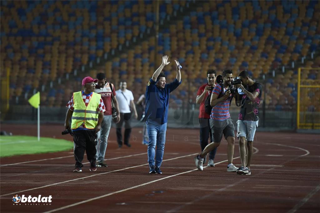 صور مباراة الزمالك وطنطا في الدوري المصري