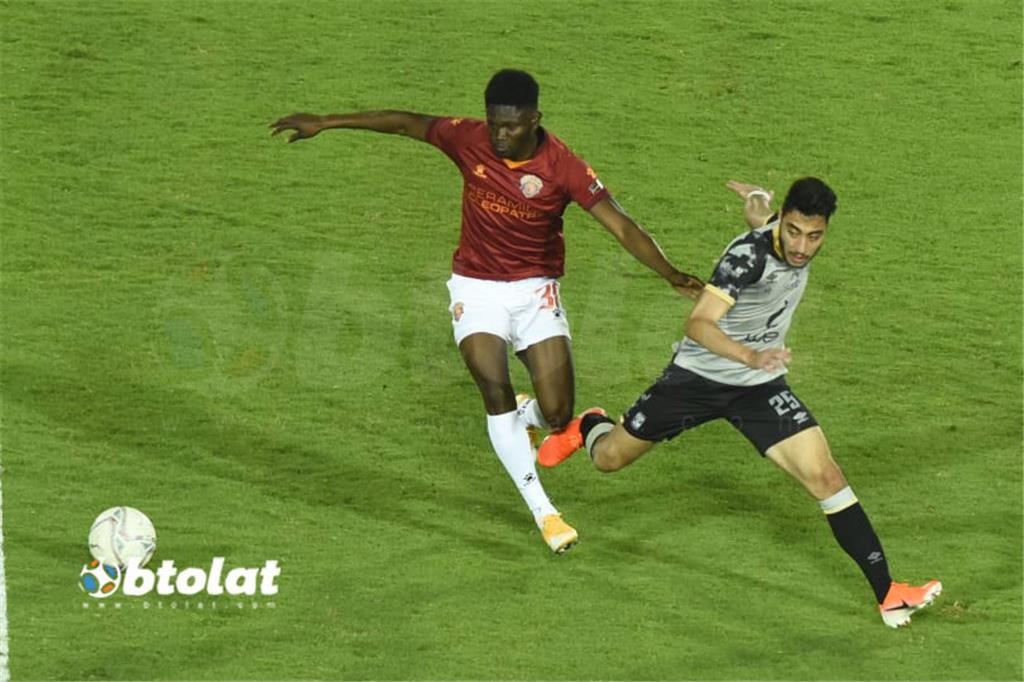 صور مباراة الاهلي وسيراميكا كليوباترا في الدوري المصري