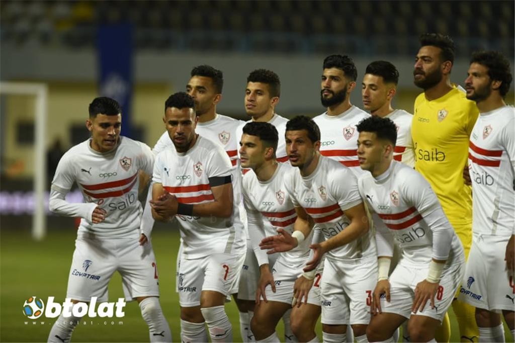 صور مباراة الزمالك ومصر المقاصة
