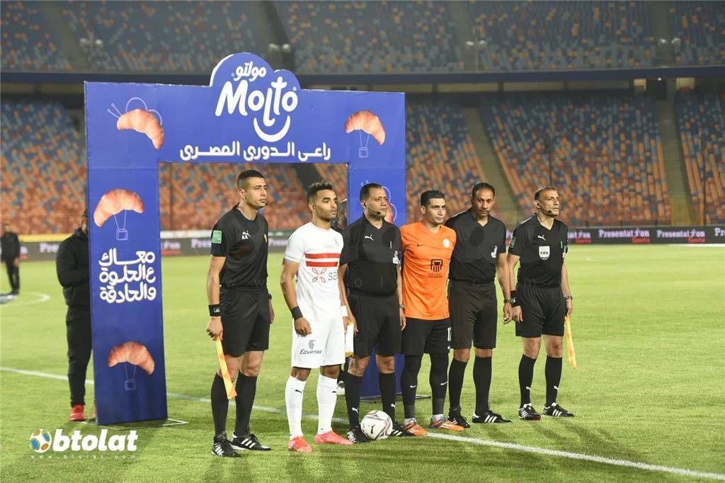 صورة مباراة الزمالك والبنك الاهلي في الدوري المصري