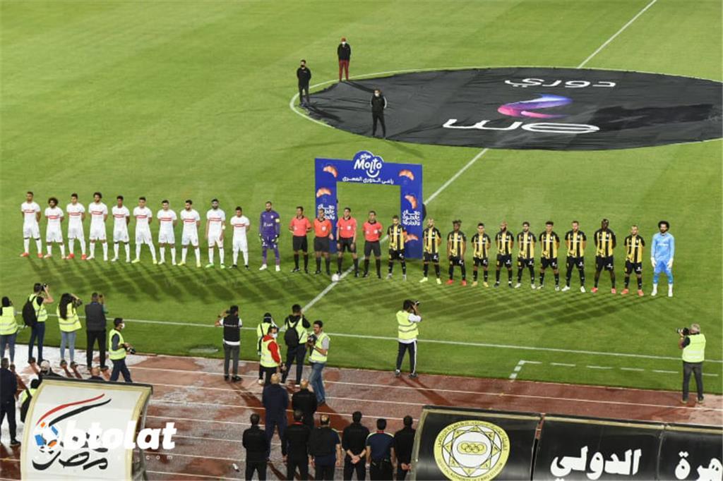 صور مباراة الزمالك والمقاولون العرب في الدوري المصري