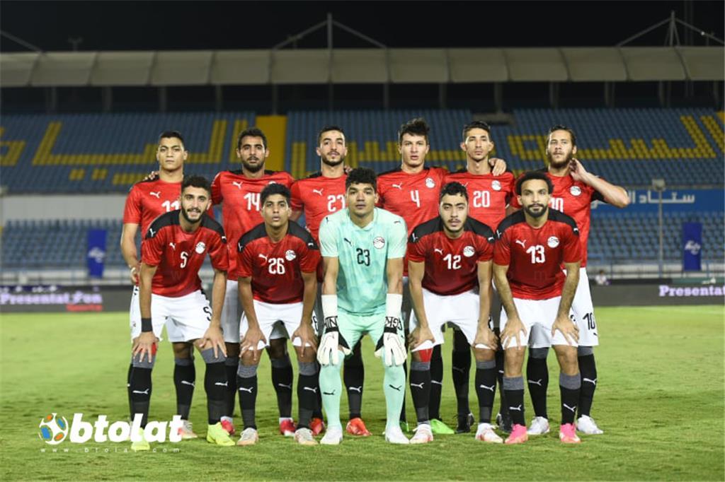 صور مباراة مصر الاوليمبي وجنوب افريقيا الودية