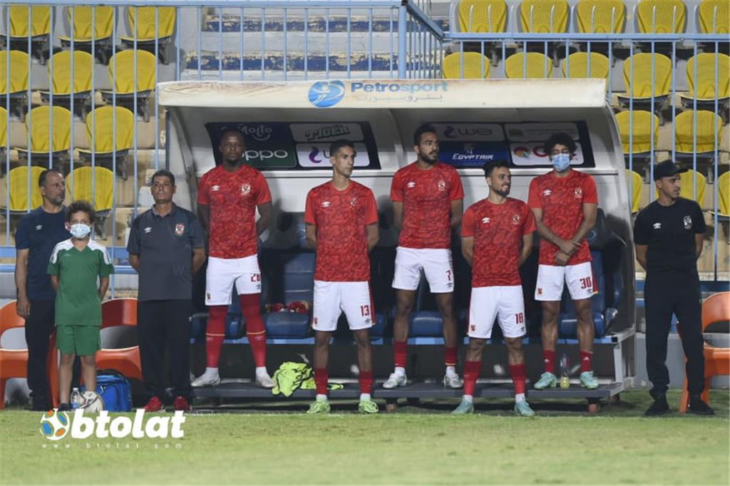 صور مباراة الأهلي والمقاولون العرب في الدوري المصري
