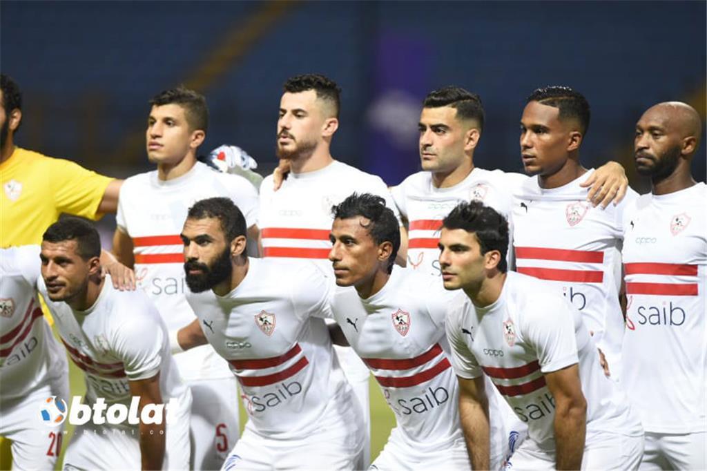 صور مباراة الزمالك وغزل المحلة في الدوري المصري