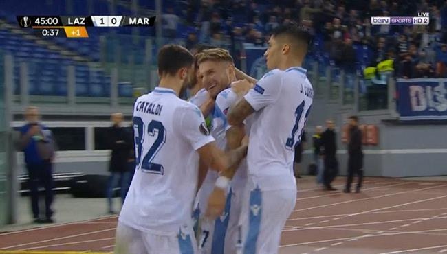 اهداف مباراة لاتسيو ومارسيليا (2-1) الدوري الاوروبي