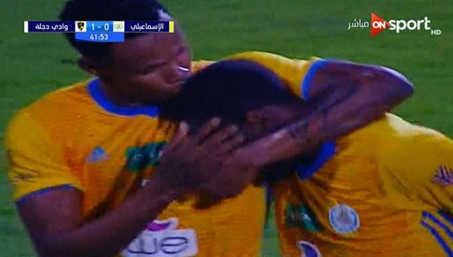 هدف تعادل الاسماعيلي مع وادي دجلة (1-1) الدوري المصري