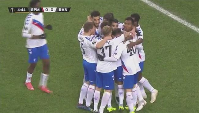 اهداف مباراة سبارتاك موسكو ورينجرز (4-3) الدوري الاوروبي