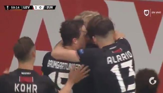 هدف فوز باير ليفركوزن على زيوريخ (1-0) الدوري الاوروبي
