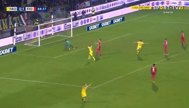 اهداف مباراة فيورنتينا وفروسينوني (1-1) الدوري الايطالي