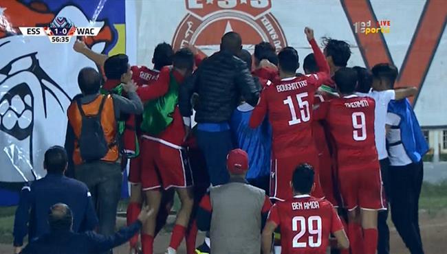 هدف فوز النجم الساحلي على الوداد (1-0) البطولة العربية
