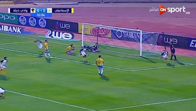 اهداف مباراة الاسماعيلي ووادي دجلة (1-3) الدوري المصري