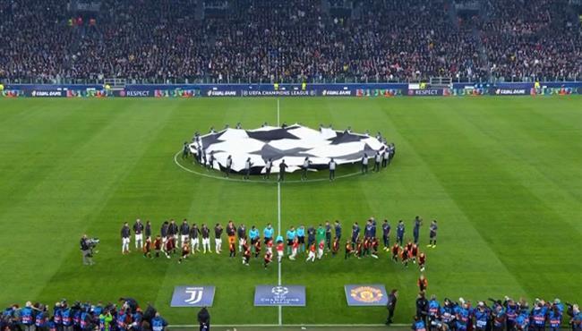 ملخص مباراة مانشستر يونايتد ويوفنتوس بدوري ابطال اوروبا