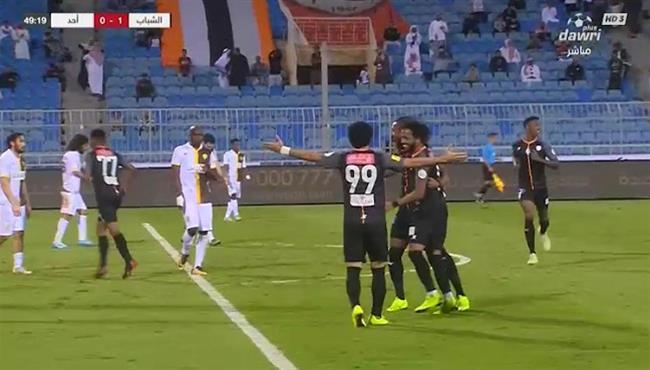 هدف فوز الشباب الرائع على احد (1-0) الدوري السعودي