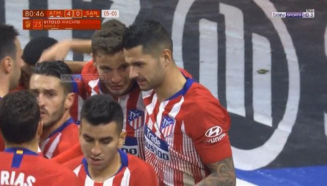 اهداف مباراة اتلتيكو مدريد وسانت أندرو (4-0) كأس ملك اسبانيا