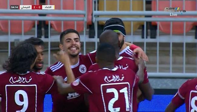 اهداف مباراة الاتحاد والفيصلي (1-2) الدوري السعودي