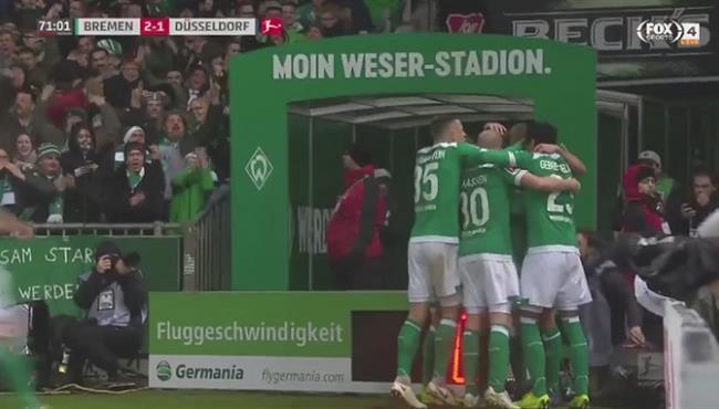 اهداف مباراة فيردر بريمن وفورتونا دوسلدورف (3-1) الدوري الالماني