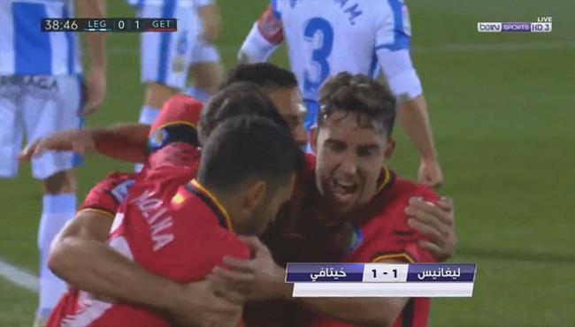 اهداف مباراة خيتافي وليجانيس (1-1) الدوري الاسباني