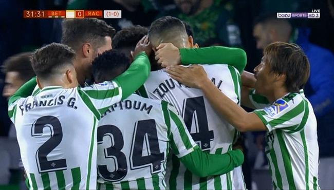 اهداف مباراة  ريال بيتيس وراسينج سانتاندير (4-0) كأس ملك اسبانيا