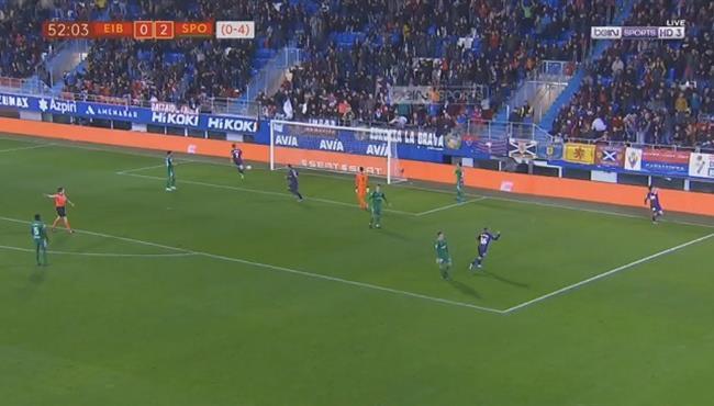 اهداف مباراة ايبار وسبورتينج خيخون (2-2) كأس ملك اسبانيا