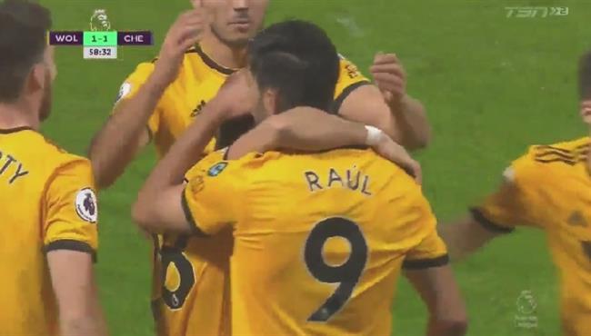 اهداف مباراة تشيلسي وولفرهامبتون (1-2) الدوري الانجليزي