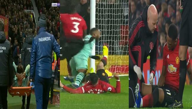 ملخص التدخلات العنيفة في مباراة مانشستر يونايتد وارسنال